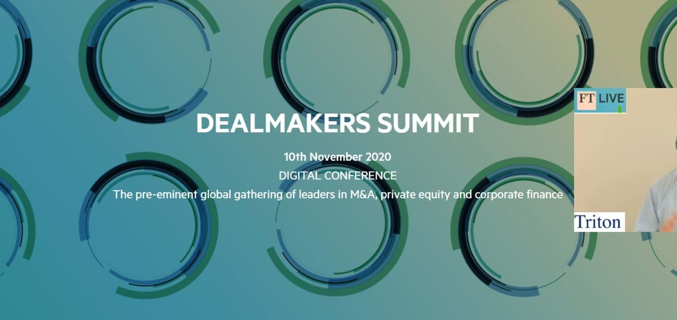 Peder Prahl spoke at FT Live's Dealmakers Summit