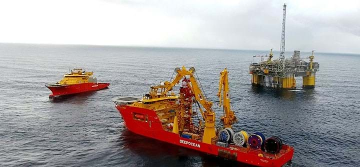 Deepocean Awarded Contract for Ploughing Operations on the Nord Stream 2 Project